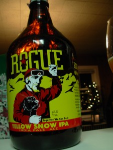 Rogue Yellow Snow e1292890409377 225x300 Mikes Christmas Party and Beer