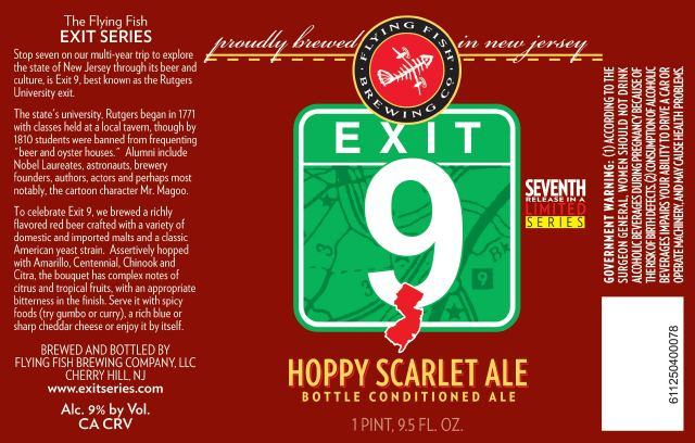 Exit9 NJs Flying Fish to Release Latest Exit in Early March