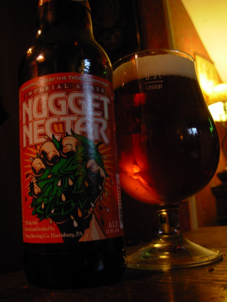 Nugget Nectar in Tulip Glass 768x1024 Spotlight   Nugget Nectar Madness