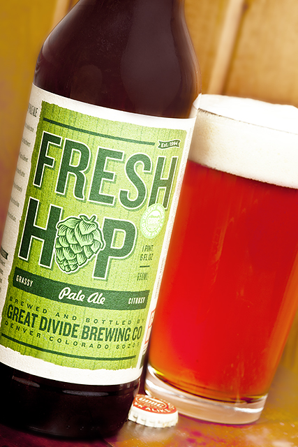Fresh Hop Pale Ale Fresh Hops at Great Divide Brewing
