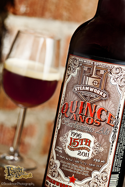 Quince Anos Barley Wine Happy Birthday Steamworks!
