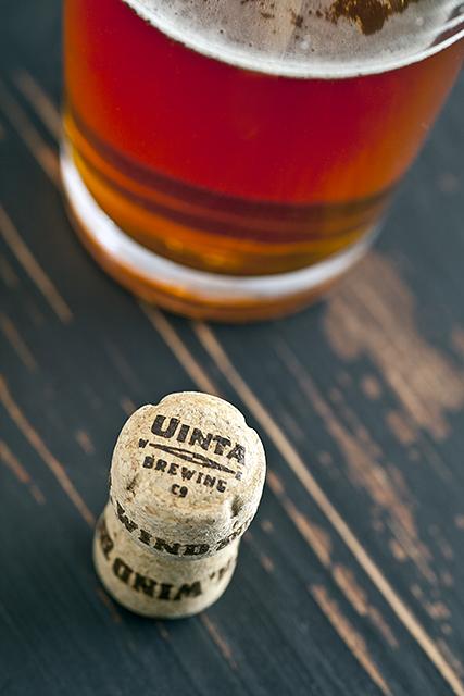 Uinta Cork Uinta Brewing Companys Crooked Line