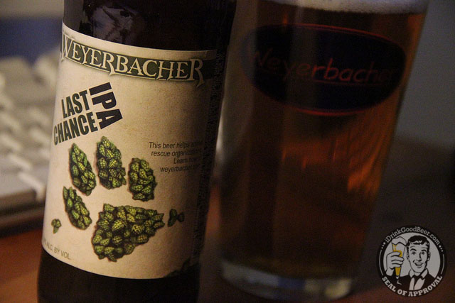 Weyerbacher Last Chance IPA