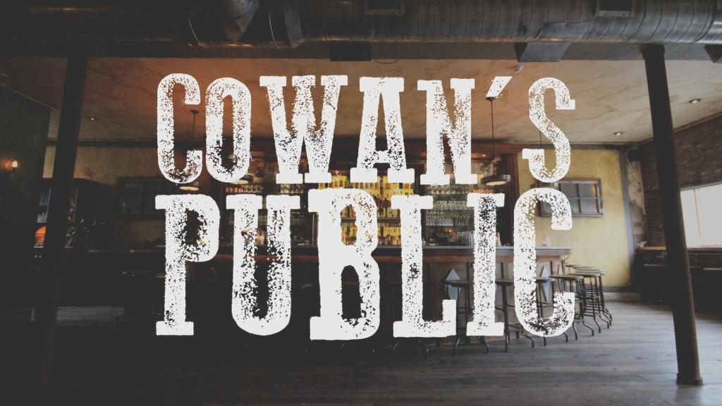COWAN'S PUBLIC BLOG