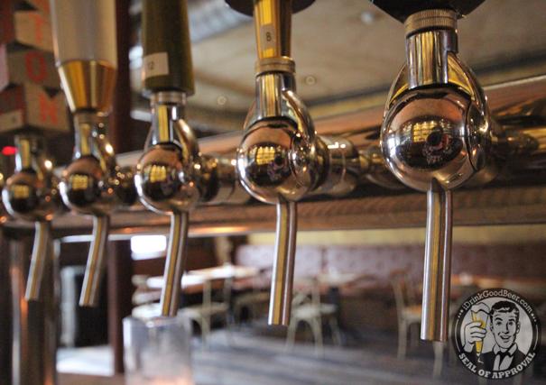 Cowans Public Nutley New Jersey Beer Tap Handles