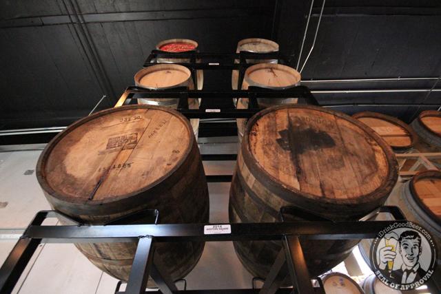 Other Half Brewing Barrels