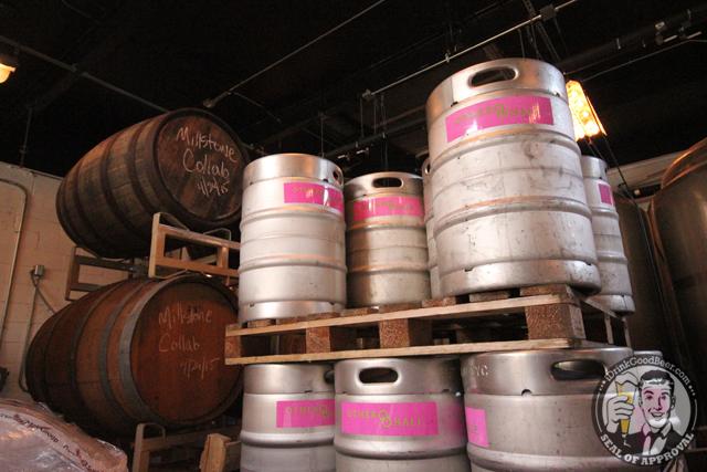 Other Half Brewing Millstone Barrels
