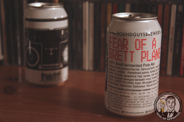 Round Guys Brewing Fear Of A Brett Planet New