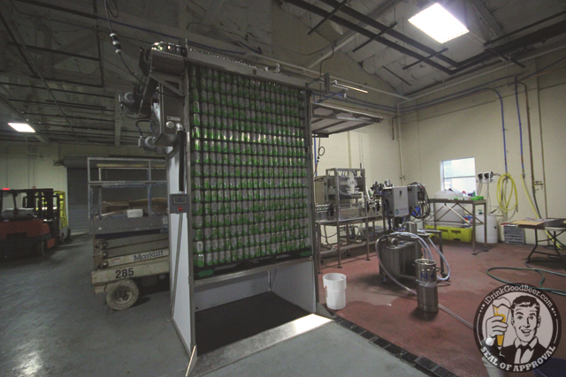 Spell Bound Brewing 11 Canning Line