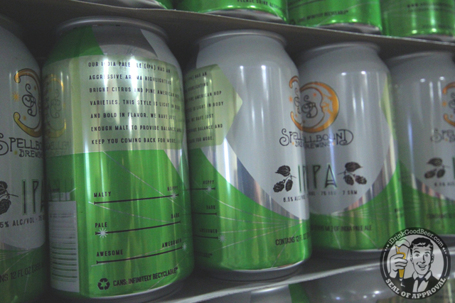 Spell Bound Brewing 8 IPA Cans