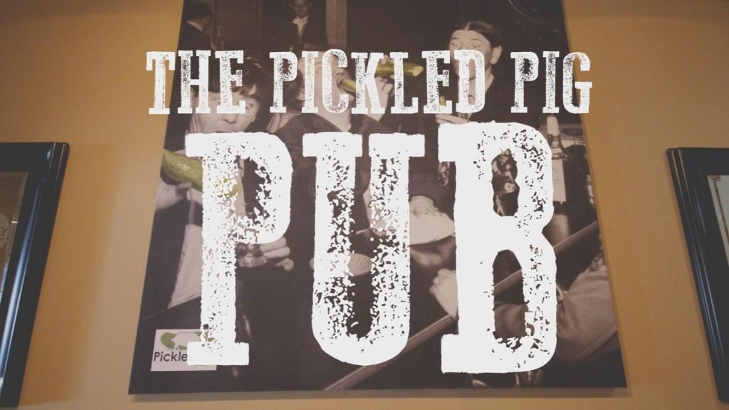 THE PICKLED PIG PUB BLOG